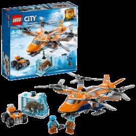 乐高  玩具 城市组 City 6岁-12岁 极地空中运输机 60193 积木LEGO