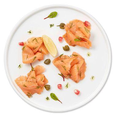 ICEFRESH 法罗群岛烟熏三文鱼冷熏生鱼片烟熏三文鱼片即食切片