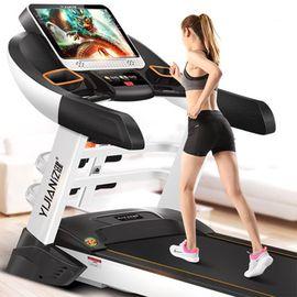 亿健 跑步机 S900跑步机家用上网彩屏多功能静音折叠减肥健身器材