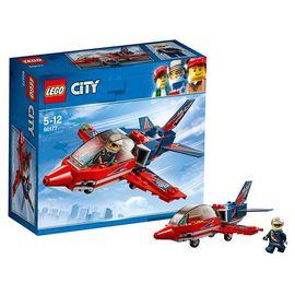乐高 城市系列 5岁-12岁 空中特技喷气机 60177 儿童 积木 玩具LEGO