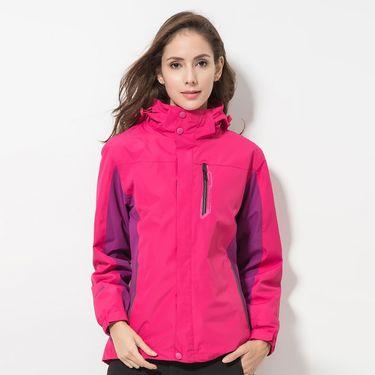 DZRZVD/杜戛地  新款户外秋冬防风保暖外套户外冲锋衣女款三合一两件套DA99016