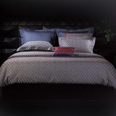 寐 MINE 煜·长绒棉色织提花四件套 1.8米床适用