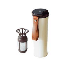 吻吻鱼 【小米有品】MOKA  智能创意保温杯(显示温度冷萃男女便携咖啡杯简约水杯 )