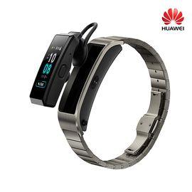 华为 手环 B5 (蓝牙耳机+智能手环+心率监测+触控+压力监测+Android+IOS通用+运动手环) 时尚版