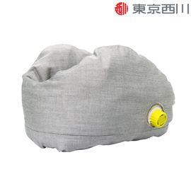 西川 NiSHiKaWa 自动充气U型枕 飞机便携旅行枕成人办公室护颈枕