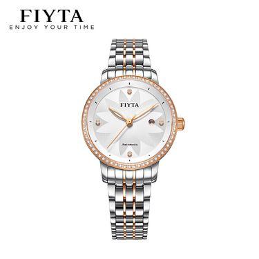 飞亚达(FIYTA) 手表迪士尼限量合作款防水全自动机械腕表花语迪士尼精致女款 LA802008.MWMD