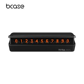 bcase TITA汽车临时停车挪车电话号码牌车内创意车载移车电话卡