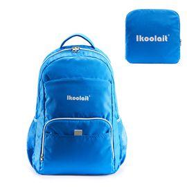 IKoolait 艾愘折叠背包运动双肩包休闲双肩包收纳包AK-406 蓝色