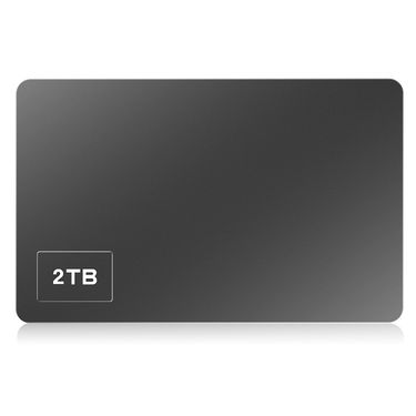朗科 (Netac)2TB USB3.0 移动硬盘 K305高端合金加密版 2.5英寸 深空灰