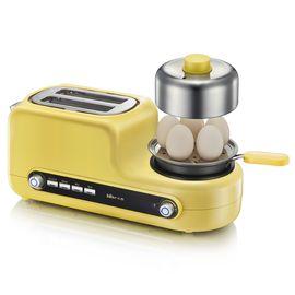 Bear 小熊 煮蛋器 家用多功能早餐机吐司机 不锈钢迷你煮蛋器蒸蛋煎蛋 ZDQ-D05Z2