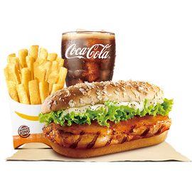 汉堡王 果木香风味火烤鸡腿堡套餐电子券 (全国指定门店e-Buy机具兑换)
