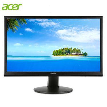 宏碁 (acer) 广视角高清DVI/VGA双接口可壁挂护眼显示器 显示屏 19.5英寸 EH200 C200LA