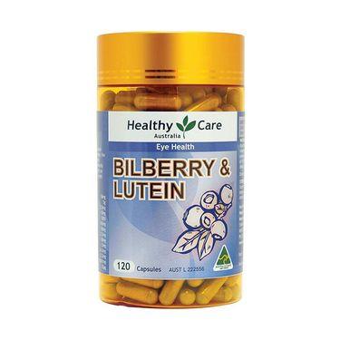 【孙俪同款】Healthy Care 越桔叶黄素120粒 澳大利亚进口
