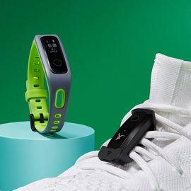 荣耀 华为 手环4Running版智能运动手表防水跑步通话提醒计步器蓝牙手环3安卓男女茵草绿
