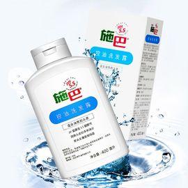 施巴 控油洗发露400ml 温和洁净头油 去除头皮屑 无硅油