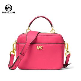 Michael Kors 迈克·科尔斯Michael Kors 女士时尚纯色logo单肩斜挎手提包 多色可选 洲际速买