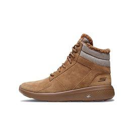 斯凯奇 Skechers 女鞋男鞋新款高帮绑带休闲鞋 保暖厚实绒里短靴 14613