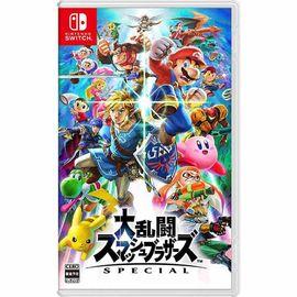 Nintendo/任天堂 【预售】 Switch NS掌机游戏机卡带 任天堂明星大乱斗 日本进口 洋码头