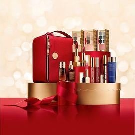 Estee Lauder 【现货秒杀】雅诗兰黛2018新版专柜限量版圣诞套盒礼盒彩妆套妆圣诞礼物 美国进口 洋码头