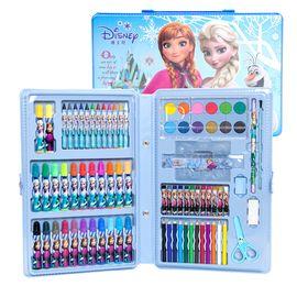 【唯品会】迪士尼冰雪奇缘儿童绘画套装水彩笔幼儿园画笔玩具礼盒女童