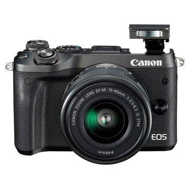【苏宁】佳能(Canon) EOS M6 微单套机(EF-M 15-45mm f/3.5-6.3 IS STM)(银色)
