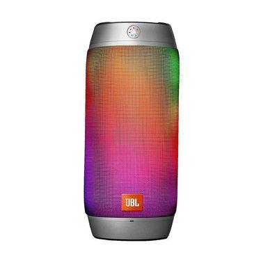 【苏宁】JBL Pulse2音乐脉动 脉动二代 蓝牙炫彩音箱无线便携小音响低音HIFI 银色