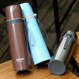 哈尔斯 304不锈钢真空保温杯男士商务水杯子女士便携学生茶杯