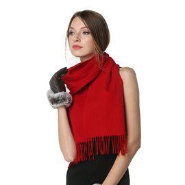 Ozwear UGG 秋冬款男女通用款羊毛羊绒保暖围巾  澳洲直邮  普维香港