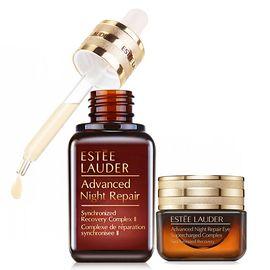 Estee Lauder /雅诗兰黛 小棕瓶特润精华50ml+抗蓝光眼霜15ml  美国进口  杨幂同款 Star Beauty
