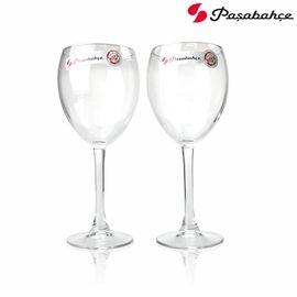 帕莎帕琦 Pasabahce 土耳其进口 皇家钢化 全钢化 红酒杯 高脚杯 420ml 44829