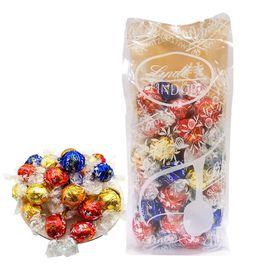 瑞士莲LINDT 软心进口精选4种口味巧克力球 600克/袋