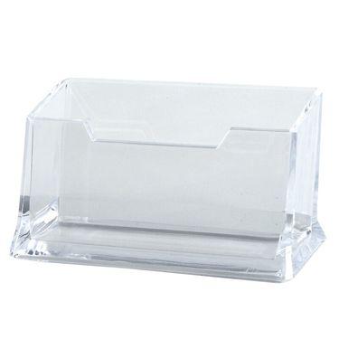 齐心 (COMIX)透明名片座/名片盒 办公文具 B2169