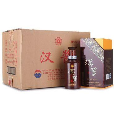 茅台 汉酱 51度500ml*6瓶整箱装口感酱香型白酒