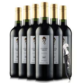 奥瑞安 【名庄精选】法国原瓶进口 雄狮干红葡萄酒整箱装 750ml*6瓶