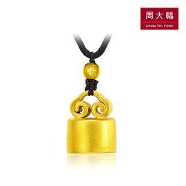周大福 传承 黄金印章 四喜-印喜 约14.85g F209974