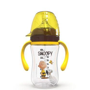 SNOOPY 宽口径PP奶瓶新生儿6-18个月初生婴儿防摔防爆