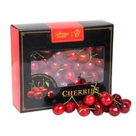 花果鲜 【年货礼盒】智利进口车厘子2斤礼盒装 果经26-28mm 外箱随以收到为准