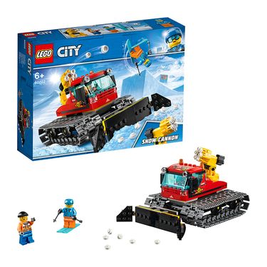 LEGO 乐高 CITY系列 扫雪车 60222