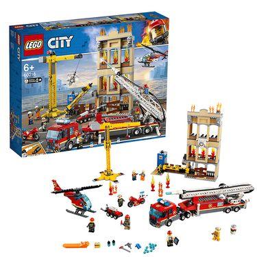LEGO 乐高 CITY系列城市消防救援队 60216