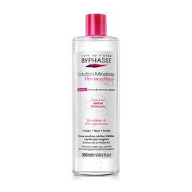 蓓昂斯 西班牙(BYPHASSE)温和养肤卸妆水500ml 脸部清洁 无刺激 眼唇保湿 敏感肌可用