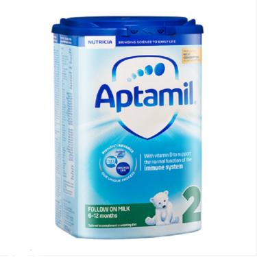 aptamil/爱他美 英国 aptamil 爱他美婴幼儿奶粉 2段新包装 800g 英国进口 ENJOY LIFE