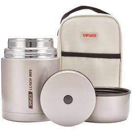 泰福高 焖烧杯闷烧壶罐304不锈钢真空超长保温桶成人饭盒便当