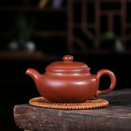 安居行 宜兴正品原矿紫砂 中糟清仿古紫砂壶 高档家用茶壶