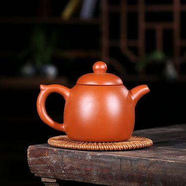 安居行 宜兴紫砂茶壶 家用紫砂壶 清水泥 秦权壶