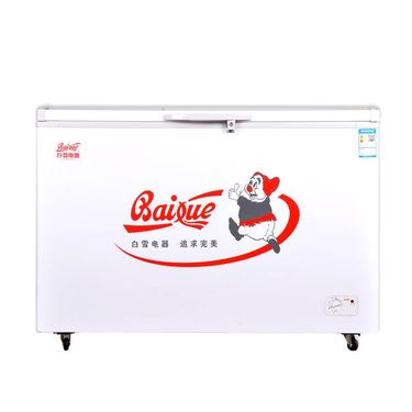 【易购】白雪(Baixue) BD/C-402FD402L 卧式 冷柜 冰柜 卧式冷柜 大冰柜商用 强冷冻 机械控温