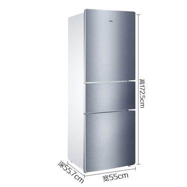 【易购】TCL 三门冰箱 BCD-205TF1 星空银