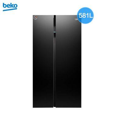 【易购】倍科(beko)EUG91640IP原装进口变频隐形把手对开门冰箱