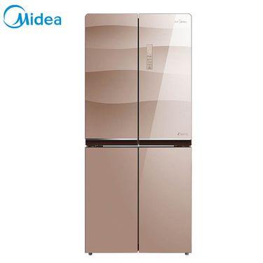 【易购】美的冰箱BCD-432WGPZM玫瑰金