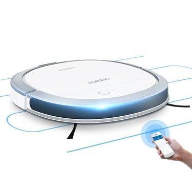 【易购】科沃斯(Ecovacs)全自动智能扫地机器人超薄扫拖一体机DK35
