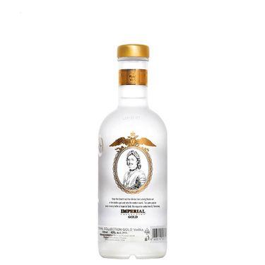 【易购】俄罗斯原瓶原装进口 沙皇金樽牌 40度 金伏特加 烈酒 500ml